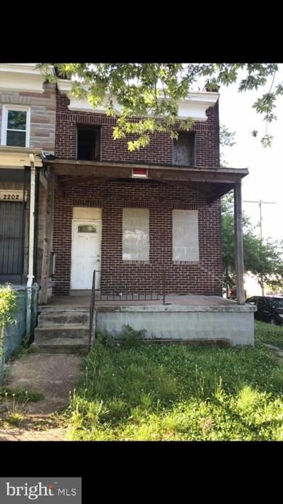 2200 W Lanvale Street, Baltimore, MD 21216 - #: MDBA2002196