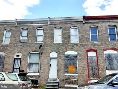 448 Furrow Street, Baltimore, MD 21223 - #: MDBA2002870