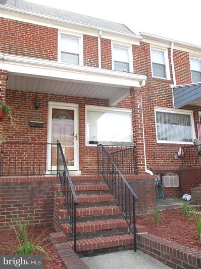 822 Umbra Street, Baltimore, MD 21224 - #: MDBA2003012