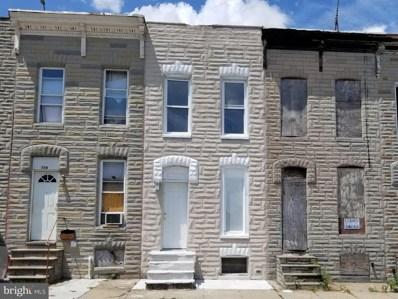 332 S Smallwood Street, Baltimore, MD 21223 - #: MDBA2003134