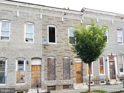 1712 Presstman Street, Baltimore, MD 21217 - #: MDBA2003182