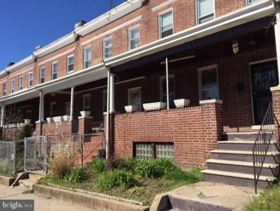 1916 N Bentalou Street, Baltimore, MD 21216 - #: MDBA2003744