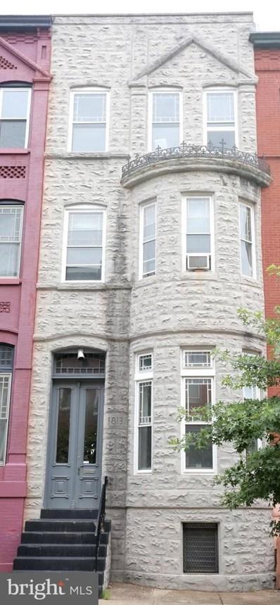 1813 Madison Avenue, Baltimore, MD 21217 - #: MDBA2003786