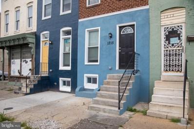 1215 Greenmount Avenue, Baltimore, MD 21202 - #: MDBA2003856