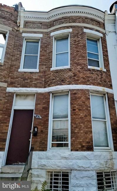 1831 Riggs Avenue, Baltimore, MD 21217 - #: MDBA2003980