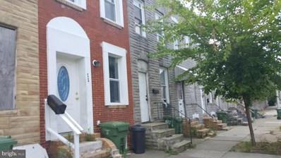 1845 Ramsay Street, Baltimore, MD 21223 - #: MDBA2004038