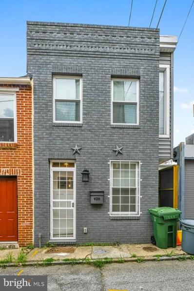 920 S Belnord Avenue, Baltimore, MD 21224 - #: MDBA2004068