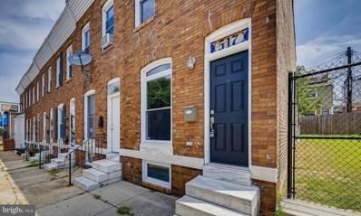 517 S Ellwood Avenue, Baltimore, MD 21224 - #: MDBA2004176