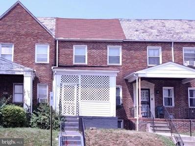 1812 N Ellamont Street, Baltimore, MD 21216 - #: MDBA2004256