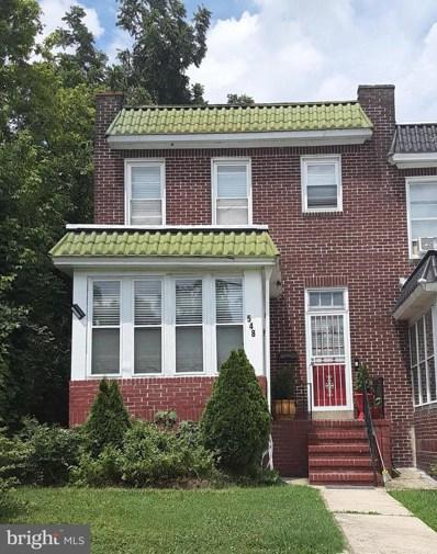 548 Radnor Avenue, Baltimore, MD 21212 - #: MDBA2004402