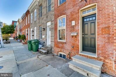 107 E Barney Street, Baltimore, MD 21230 - #: MDBA2004892
