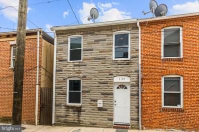 136 S Durham Street, Baltimore, MD 21231 - #: MDBA2004904