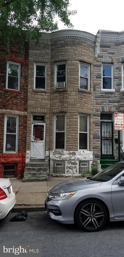 2830 Woodbrook Avenue, Baltimore, MD 21217 - #: MDBA2005142