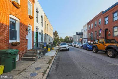 1606 Marshall Street, Baltimore, MD 21230 - #: MDBA2005158