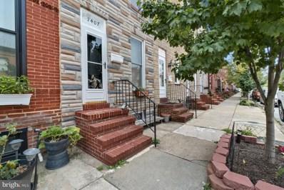 1407 Andre Street, Baltimore, MD 21230 - #: MDBA2005202