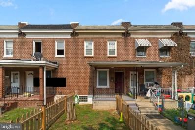 3554 Horton Avenue, Baltimore, MD 21225 - #: MDBA2005304