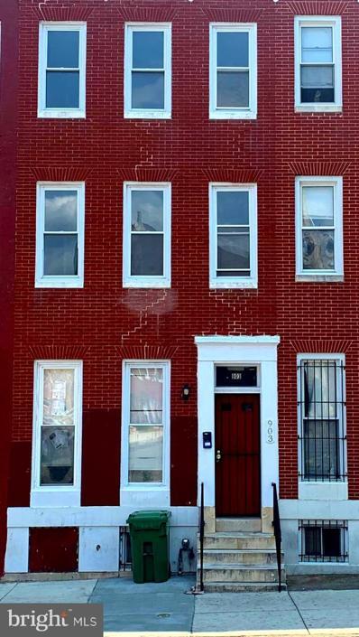 903 Harlem Avenue, Baltimore, MD 21217 - #: MDBA2005398