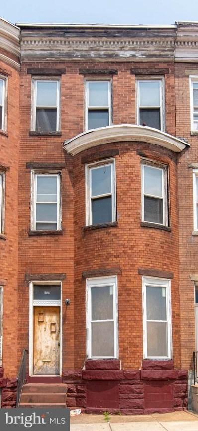 804 E North Avenue, Baltimore, MD 21202 - #: MDBA2005696