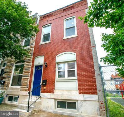 208 S Bouldin Street, Baltimore, MD 21224 - #: MDBA2005698