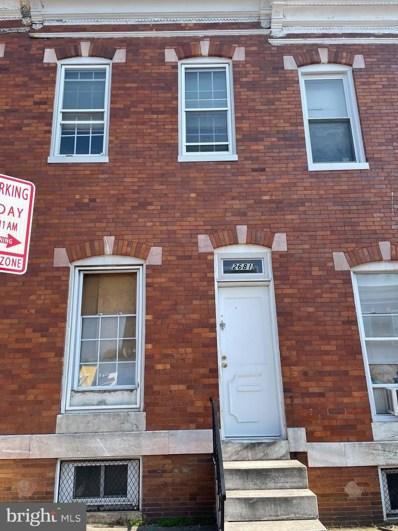 2681 Saint Benedict Street, Baltimore, MD 21223 - #: MDBA2006038