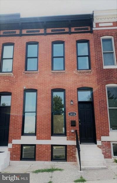1414 N Broadway, Baltimore, MD 21213 - #: MDBA2006098
