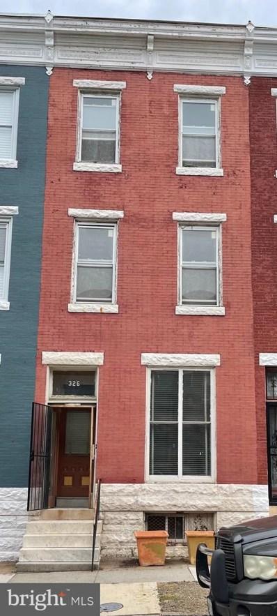 326 E 22ND Street, Baltimore, MD 21218 - #: MDBA2006192