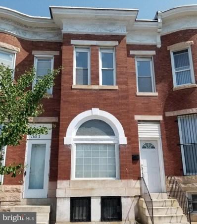 1660 W North Avenue, Baltimore, MD 21217 - #: MDBA2006210