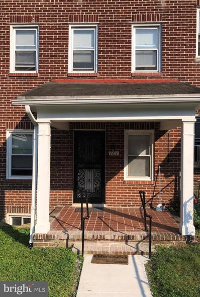 767 N Edgewood Street N, Baltimore, MD 21229 - #: MDBA2006636
