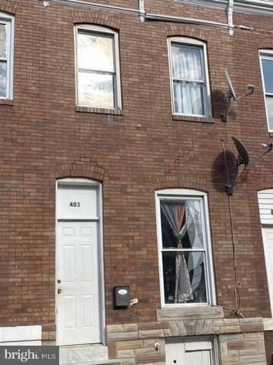 403 N Streeper Street, Baltimore, MD 21224 - #: MDBA2006956