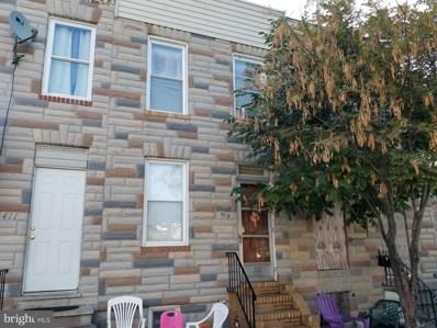 413 S Parrish Street, Baltimore, MD 21223 - #: MDBA2007184