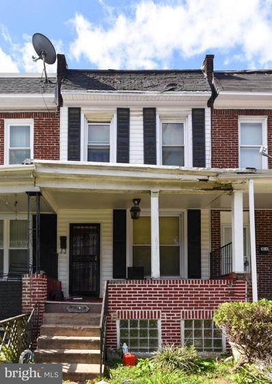 3028 Chelsea Terrace, Baltimore, MD 21216 - #: MDBA2007412