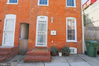 821 Mangold Street, Baltimore, MD 21230 - #: MDBA2007444