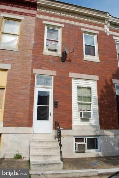 541 N Kenwood Avenue, Baltimore, MD 21205 - #: MDBA2007610