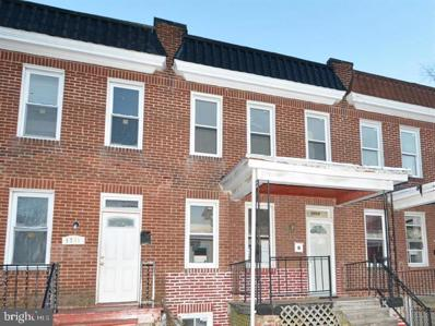 3713 Arcadia Avenue, Baltimore, MD 21215 - #: MDBA2007886