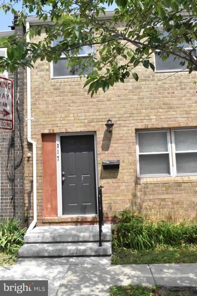317 N Carey Street, Baltimore, MD 21223 - #: MDBA2008124