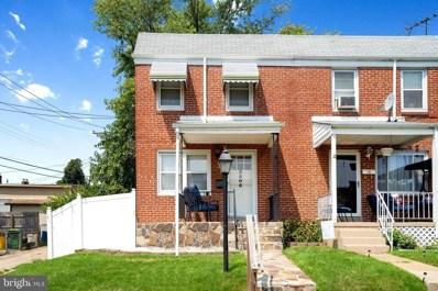 3506 Greenvale Road, Baltimore, MD 21229 - #: MDBA2008288
