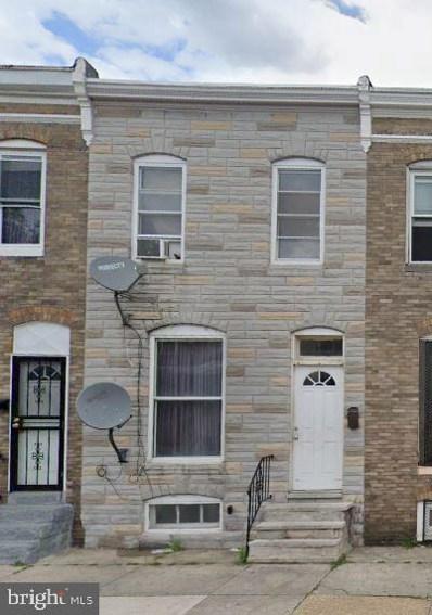 445 S Bentalou Street, Baltimore, MD 21223 - #: MDBA2008366