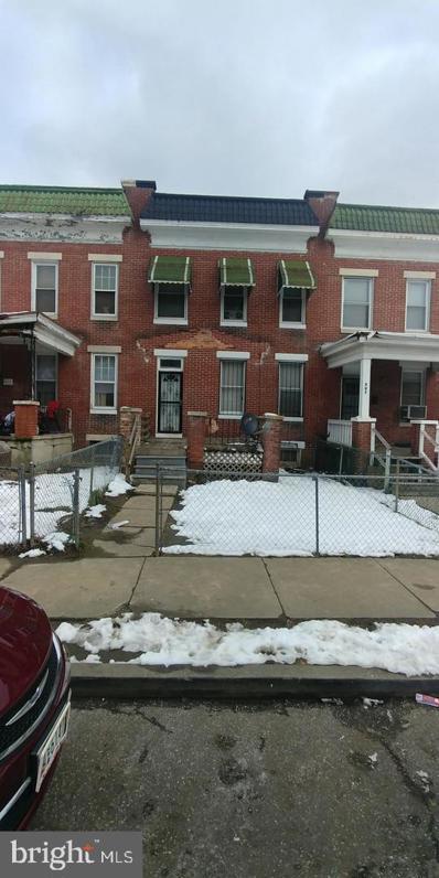 509 N Edgewood Street, Baltimore, MD 21229 - #: MDBA2009054
