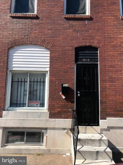 618 N Belnord Avenue, Baltimore, MD 21205 - #: MDBA2009146