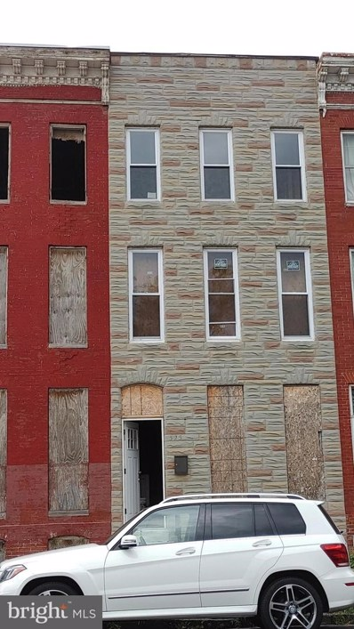 325 S Payson Street, Baltimore, MD 21223 - #: MDBA2009484