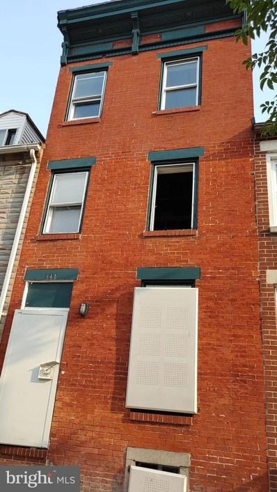 945 W Lombard Street, Baltimore, MD 21223 - #: MDBA2009492
