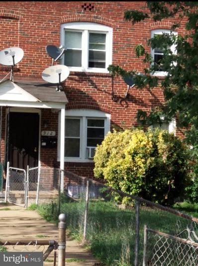 912 E Patapsco Avenue, Baltimore, MD 21225 - #: MDBA2009508