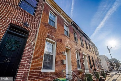 24 E Heath Street, Baltimore, MD 21230 - #: MDBA2009516