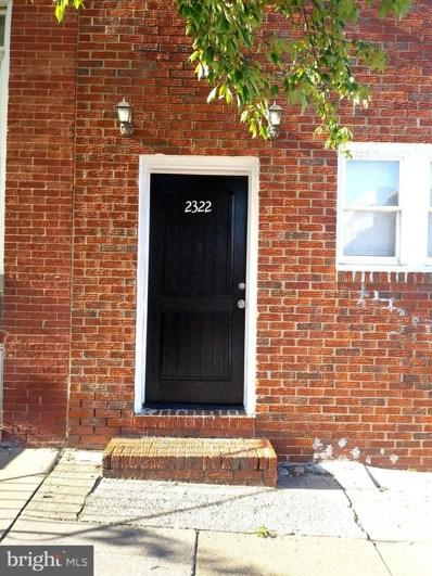 2322 E Fayette Street, Baltimore, MD 21224 - #: MDBA2009600