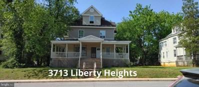 3713 Liberty Heights Avenue, Baltimore, MD 21215 - #: MDBA2009632