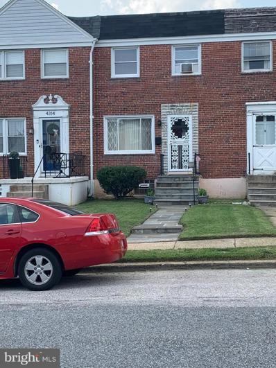 4316 Brehms Lane, Baltimore, MD 21206 - #: MDBA2010564