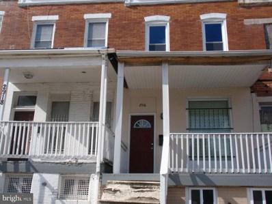 2916 W North Avenue, Baltimore, MD 21216 - #: MDBA2010752
