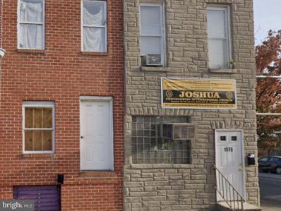 1175 Sargeant Street, Baltimore, MD 21223 - #: MDBA2010766