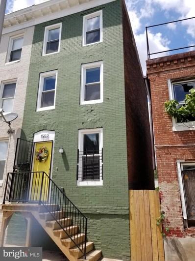1502 McHenry Street, Baltimore, MD 21223 - #: MDBA2010812