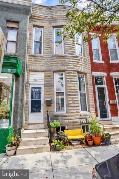 1403 Riverside Avenue, Baltimore, MD 21230 - #: MDBA2010830